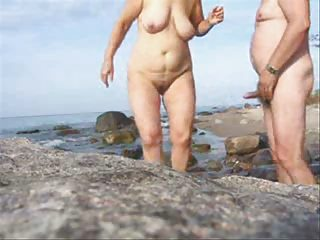 older pair sex on the beach-wear-tweed