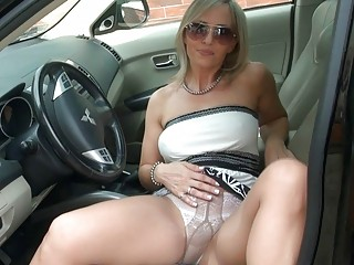 breathtaking golden-haired d like to fuck in hose