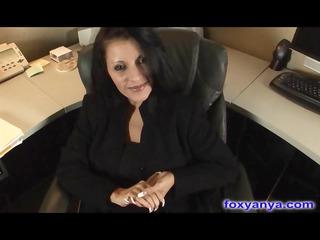 breasty boss gets nasty creampie