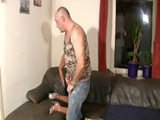 german doxy fucked by old bulky chap