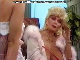 breasty mature classic blonde star gives a sexy