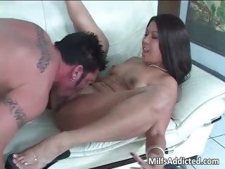 very wonderful latina milf with sexy ass rides