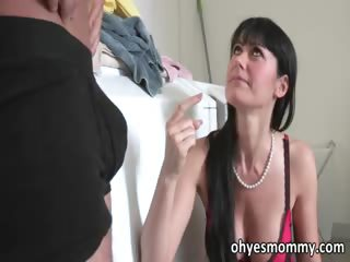 super hawt older stepmom bonks her stepdaughters