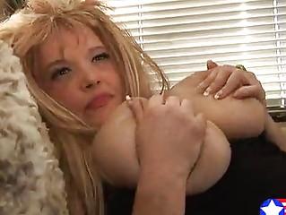 reddish blonde breasty youthful mama fucks