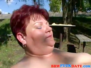 chubby older woman get screwed by slender