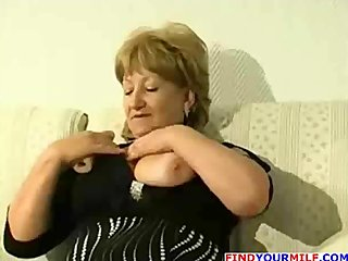 corpulent aged cougar get horny