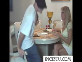 son fucks his mama after class at incestu.com
