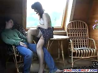 experienced mamma screwed by son part 4