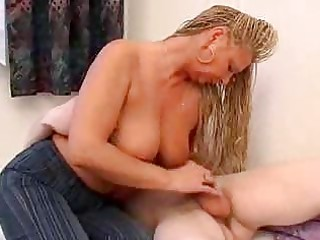 sexually excited mamma wakes up son for action
