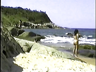 my exibitionist wife beatrice on beach 6