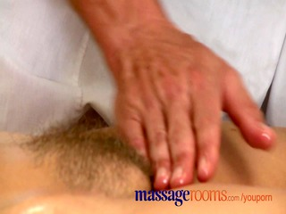 massage rooms older woman with unshaved wet crack