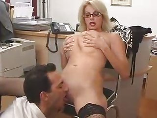 large titted mom with her boss...f60