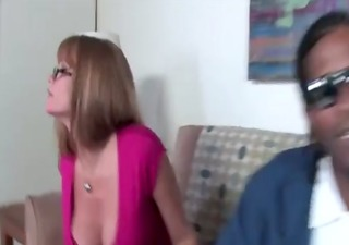 son\&#1197 s mom gives bbc her pussy for