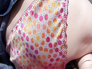 close up view of wifes pants