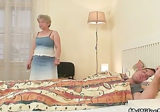 she fucks her son in law as he is sleeps