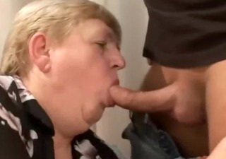 erotica a bulky old curly granny