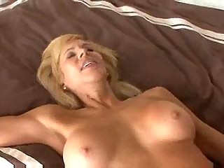 breasty aged cougar seduces a younger guy
