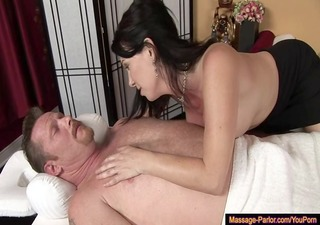ideal dd in a full service massage
