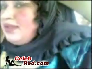 arab granny drilled in car arab