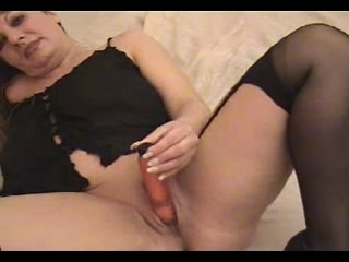 hot golden-haired older big beautiful woman