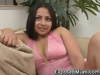 latin babe mama tit fucks and pounded hard part5