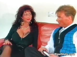 charming mega boobed aged whore acquires part5