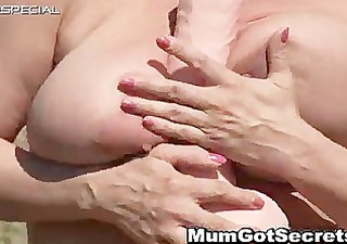 slutty mother i receives her unshaved muf drilled