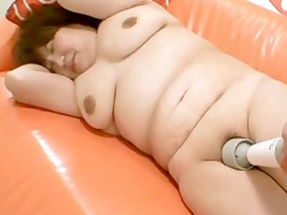 Kumiko Kaga  A Chubby Mature Japanese Sex Craving