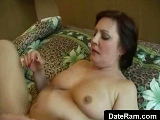 older woman getting drilled by young guy