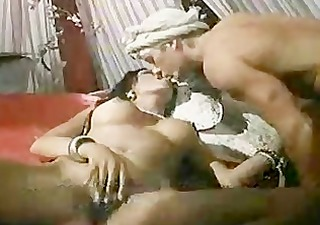arabian indian princess receives drilled