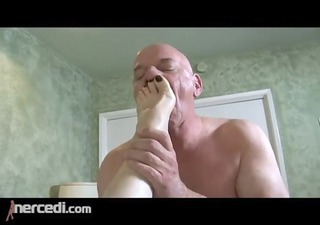 latin older wife has her feet fucked big tits,