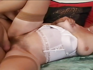 unshaved granny gabi is a filthy whore!