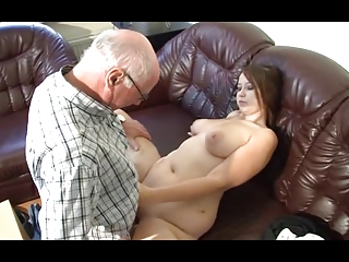 german grand-dad makes youthful angel excited
