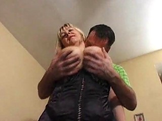 breasty mature model in hose acquires fucked